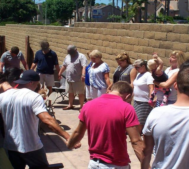 Christian Drug Treatment Center Group Prayer