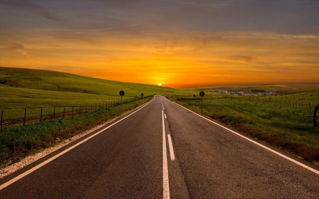 ws Orange Sunset Road Fields 1920x1200 1024x640 1